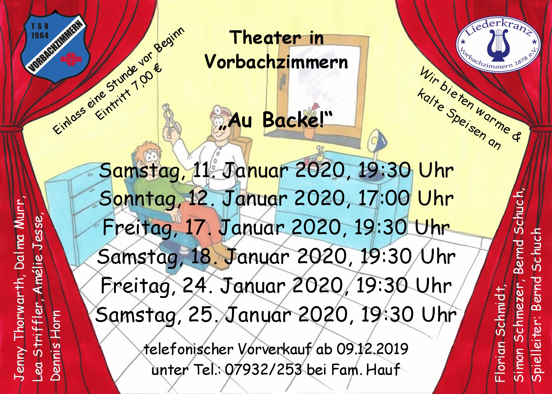 Flyer Theater Vbz 2019 20